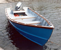 Planing dory suitable for amateur builders