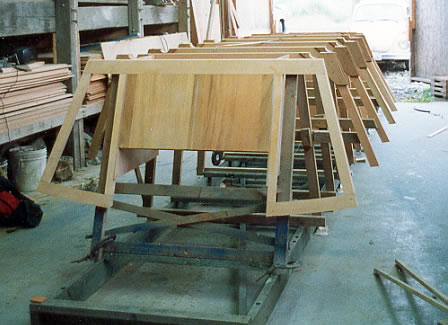 21\' Nexus Dory custom wood boat building