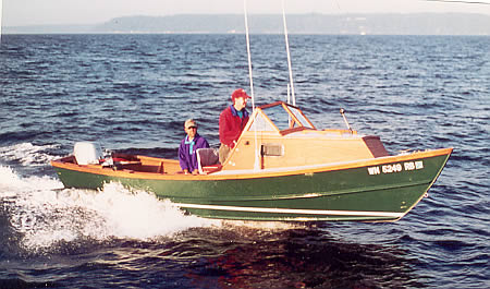 how to build a wooden skiff
