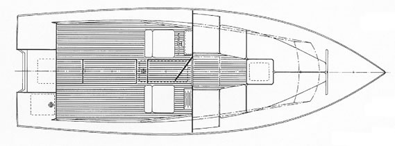 Custom Wood Boat Building The 23 Chinook