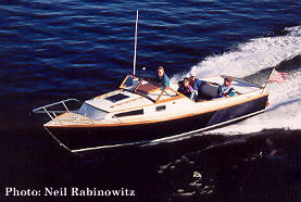24' Tyee: custom Nexus wooden powerboats have classic lines