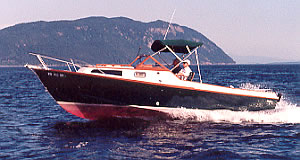 24' Tyee - an elegant custom wood boat