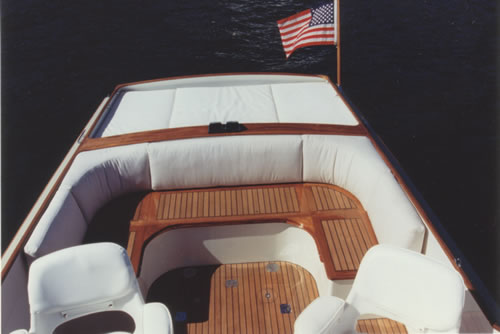 Fine Woodworking 24 Tyee Custom Wood Boat Interiors