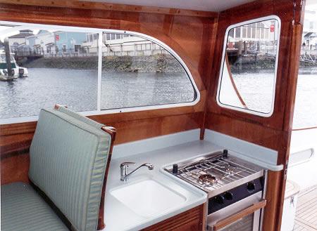 34 39 Odyssey Interior Photos Of This Custom Pilothouse Cruiser