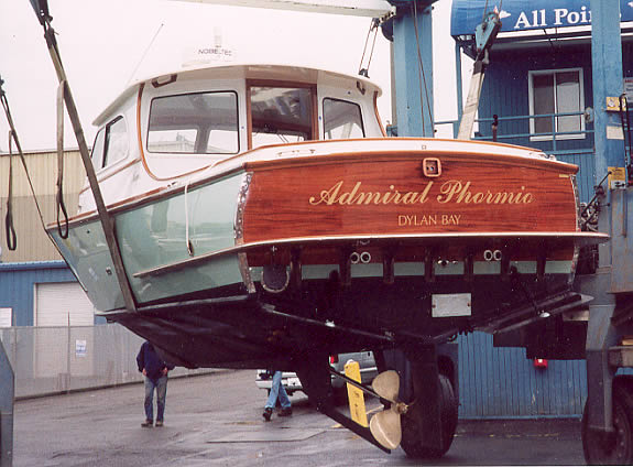 34 Odyssey Admiral Phormio On Launch Day