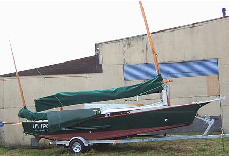 Building A Custom Wood Sailboat The 25 Black Skimmer
