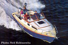 23' Chinook: our small yachts also make great sport fishing boats